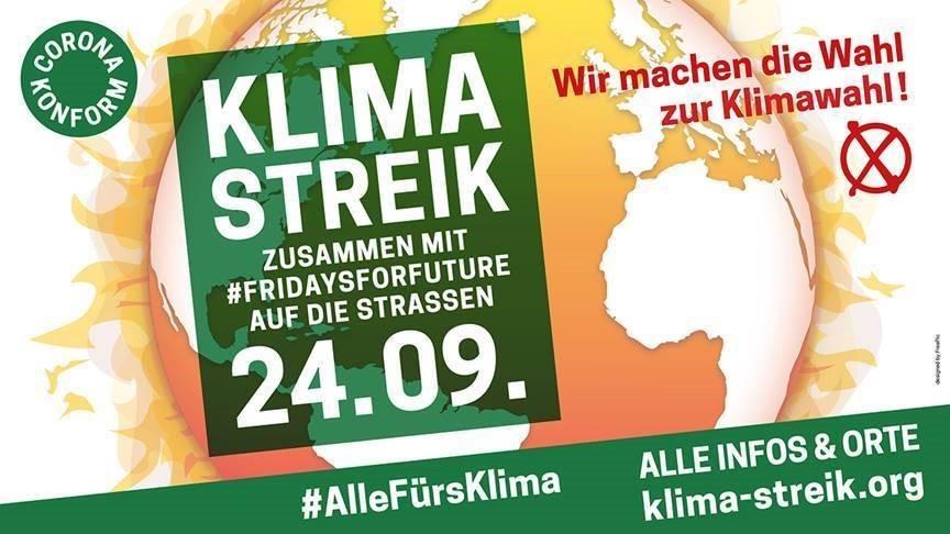 Klimastreik am 24.09.2021